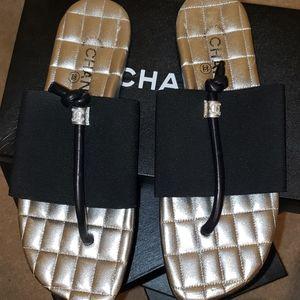 """Chanel sandals """"mule"""""""